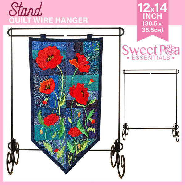Quilt Wire Stand 12in x 14in