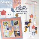 Sweet Dreams Baby Set - Sweet Pea In The Hoop Machine Embroidery Design