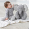 Elephant Stuffed Animal with Blanket