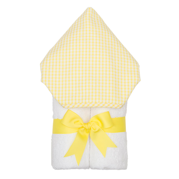 Yellow Checkered Towel