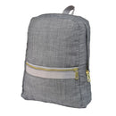 Grey Chambray Small Backpack
