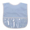 Blue Dots Laminated Bib