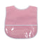 Pink Dots Laminated Bib