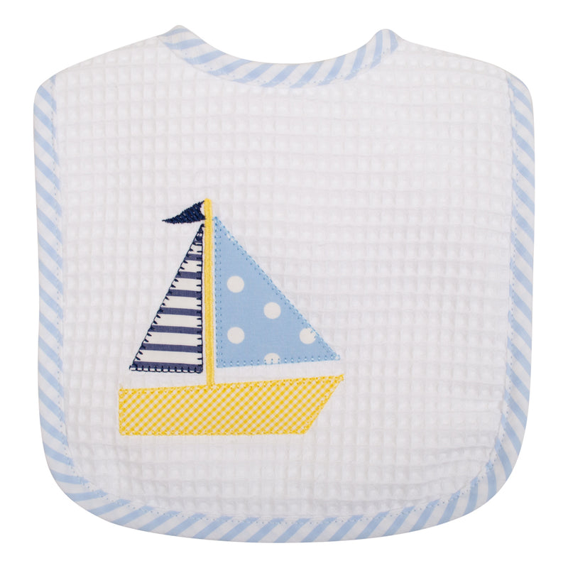 Sailboat Feeding Bib