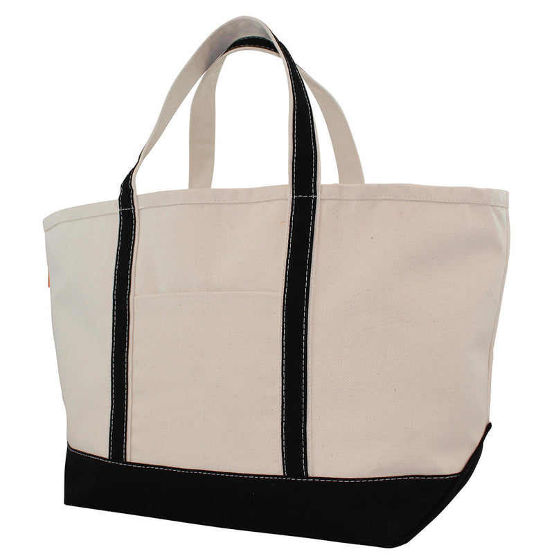 Large Boat Tote Black