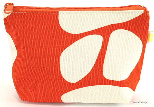 Orange Totem Small Travel Pouch