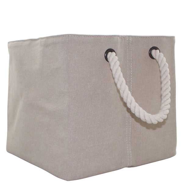 Jute Small Storage with Rope Handles