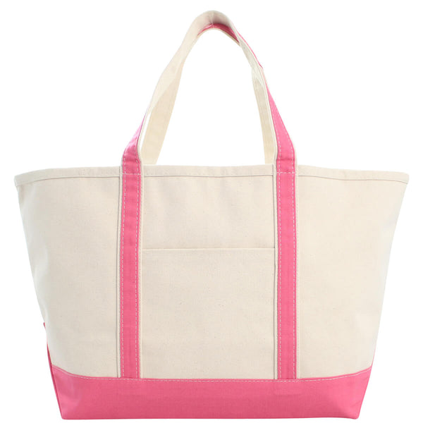 Large Boat Tote Coral