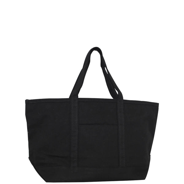 Large Boat Tote Solid Black