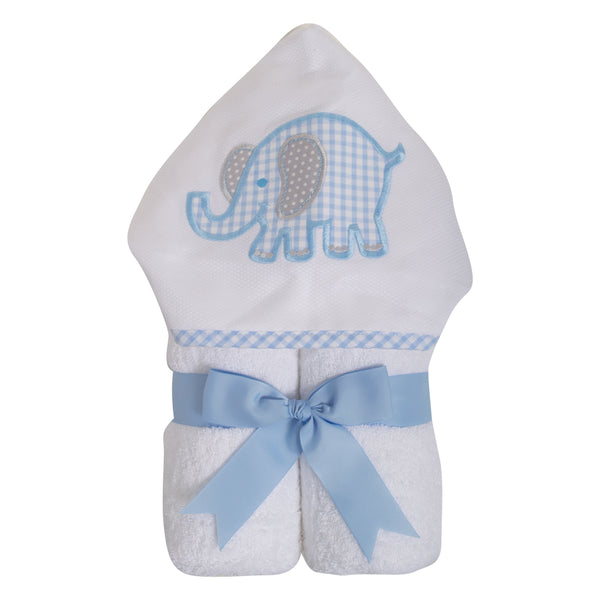 Blue Elephant Towel
