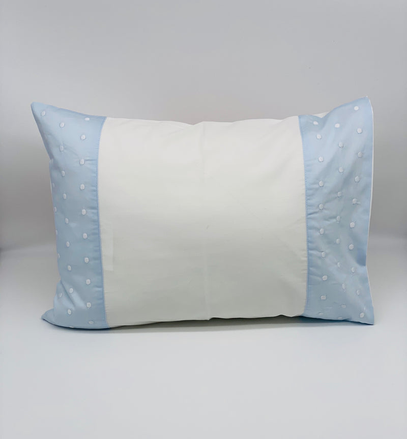 Blue Dot Boudoir Pillow