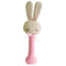 Rattle Stick | Pink Baby Bunny