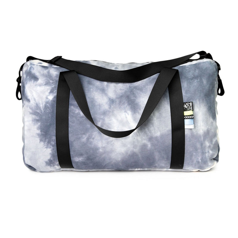 International Duffel Bag | Blue Tie Dye