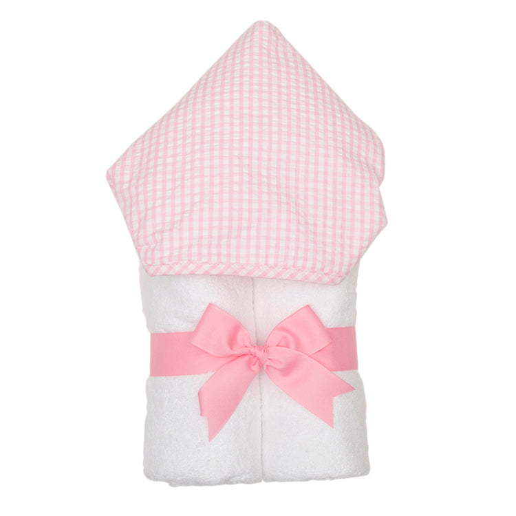 Pink Checkered Towel