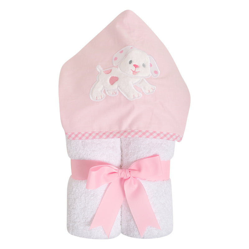 Pink Puppy Towel