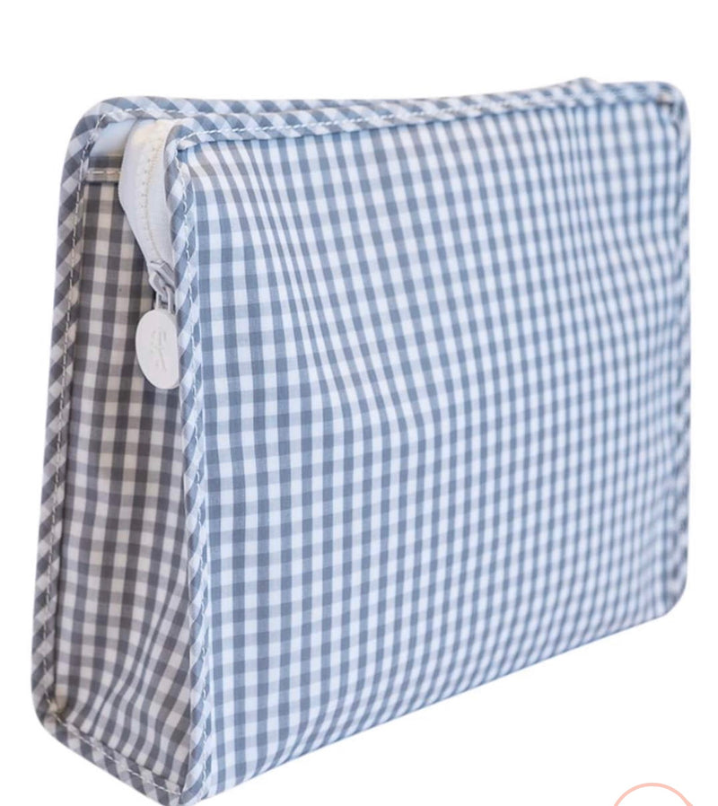 Grey Gingham Roadie Large
