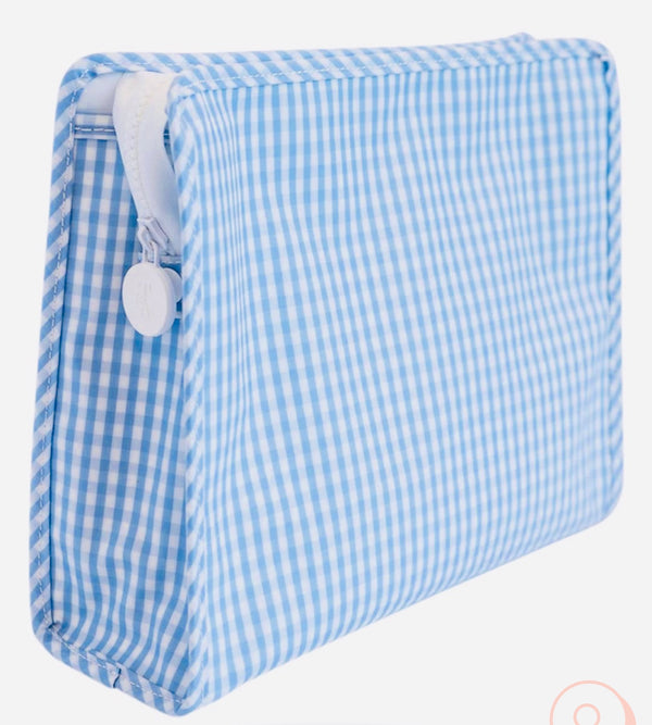 Blue Gingham Roadie Large