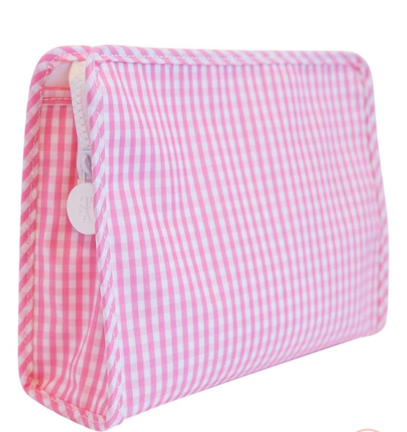 Pink Gingham Roadie Medium