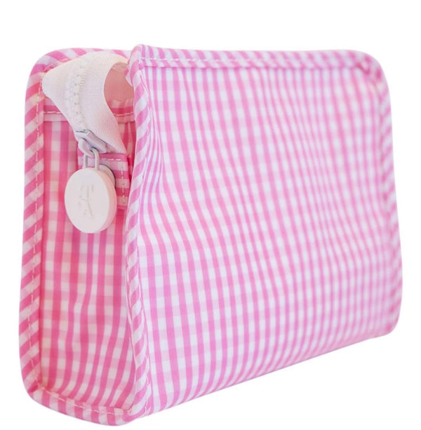 Pink Gingham Roadie Small
