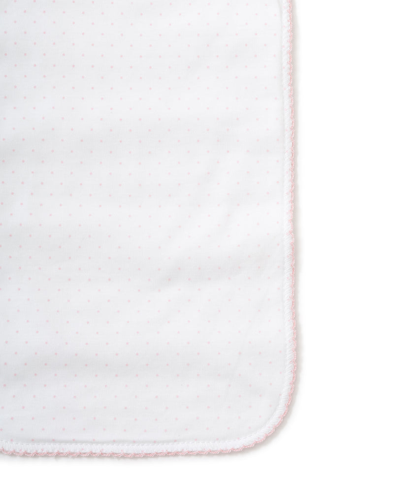 Pink Dots Burp Cloth