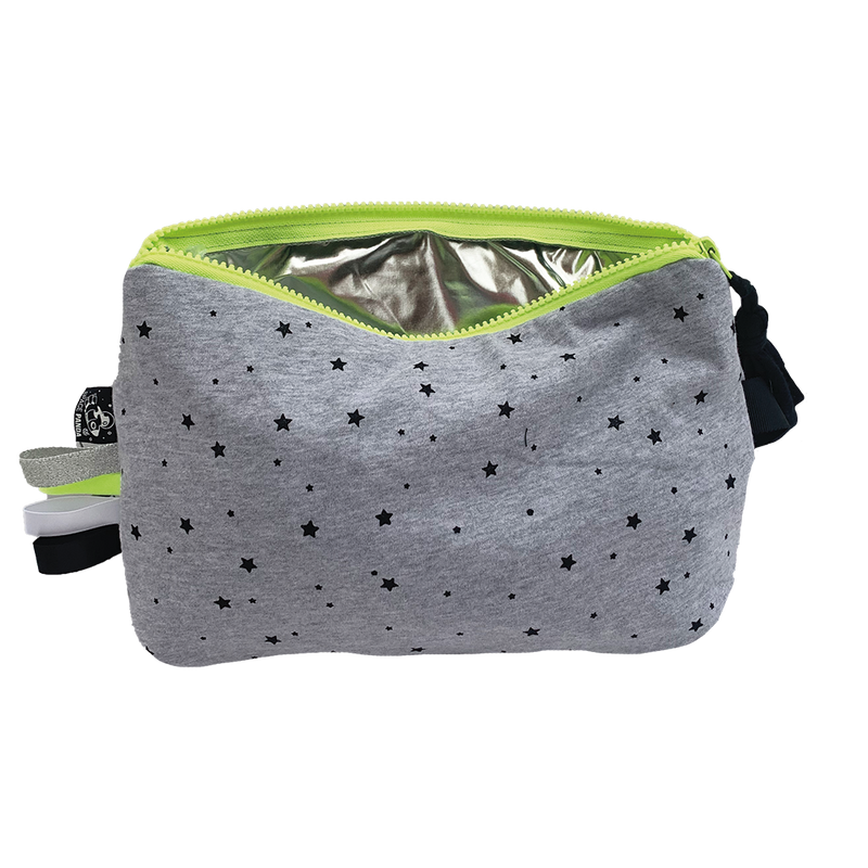 Grey Star Pouch