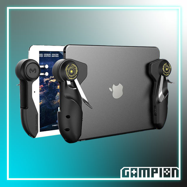 Jeebel Camp - Game Controller For Ipad/Tablet (Six Finger Game Joystick)