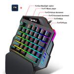 Load image into Gallery viewer, HXSJ - J50 Wired Gaming Keyboard And Mouse Beginner Kit (Ergonomic Keyboard, 5500DPI)