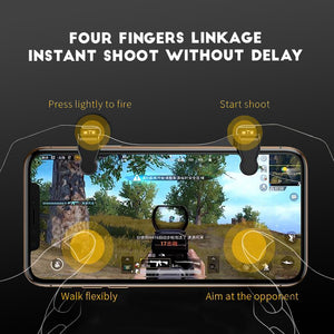 Mobile Phone Controller Joystick Trigger For PUBG / COD / Fortnite
