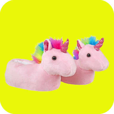 Collection chaussons licorne