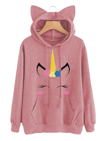 Collection pull et sweat licorne