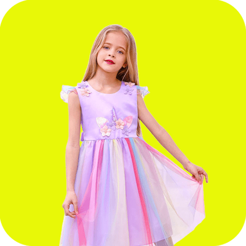 Collection robes licorne de princesse