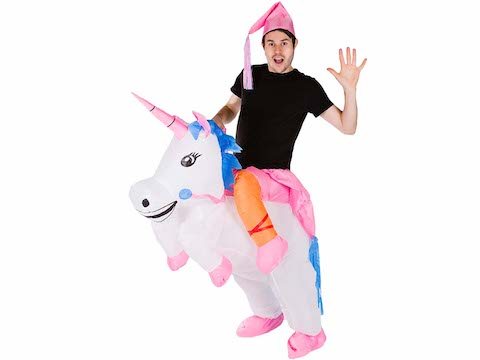 Costumes gonflables licorne
