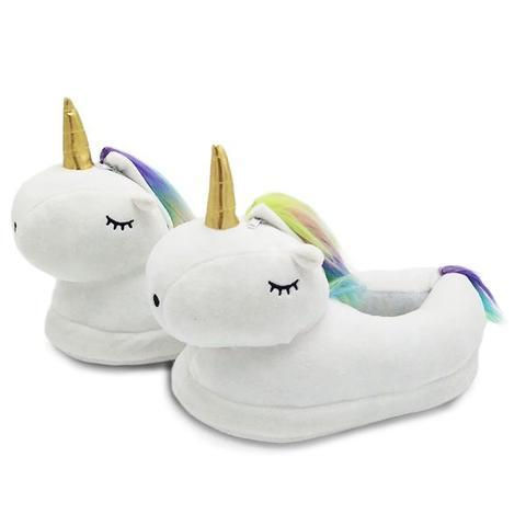 Chaussons Licorne pour Adulte