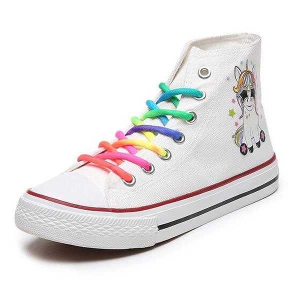 Chaussures Licorne Type Converse
