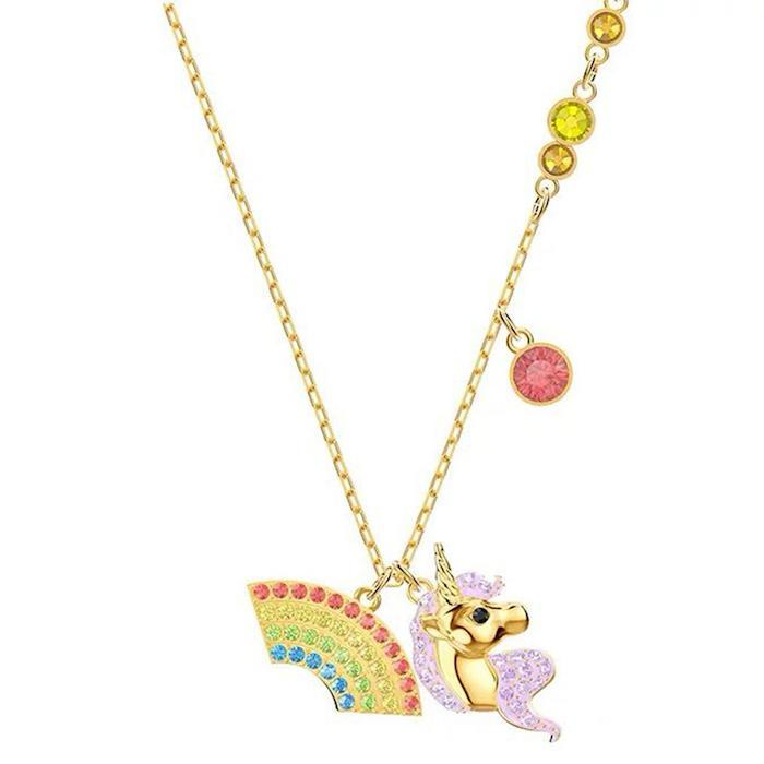 Collier Licorne Couleur Or
