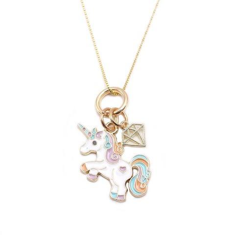 Collier Licorne Diamant
