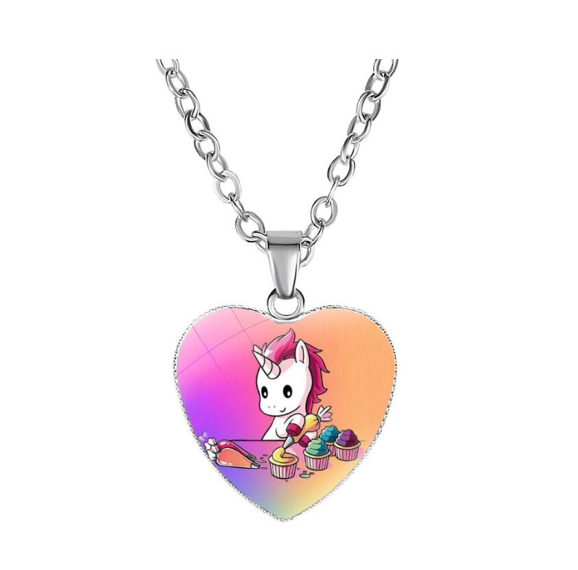 Collier Licorne Fantaisie