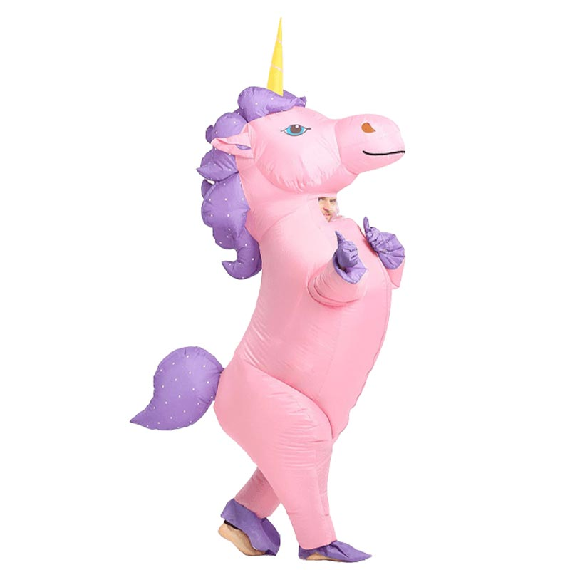Costume Gonflable Licorne Adulte
