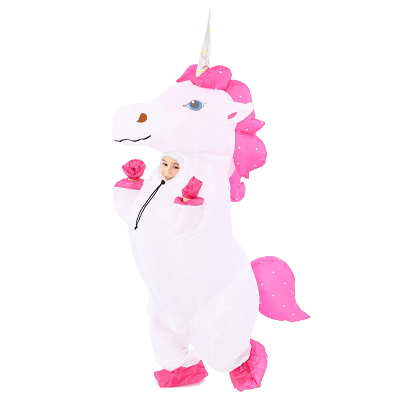 Costume Licorne Gonflable Enfant