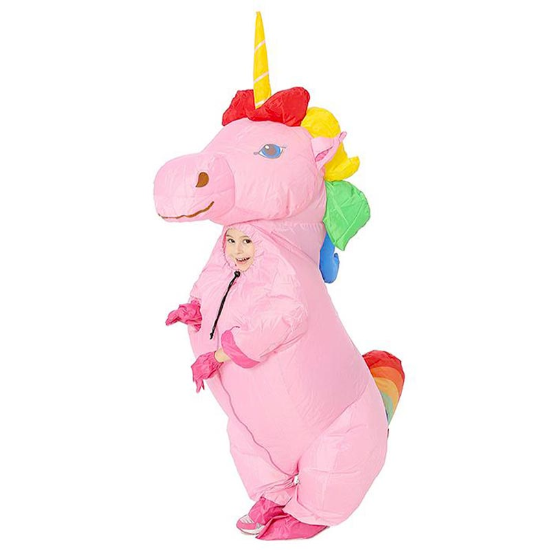 Costume Licorne Gonflable Fille