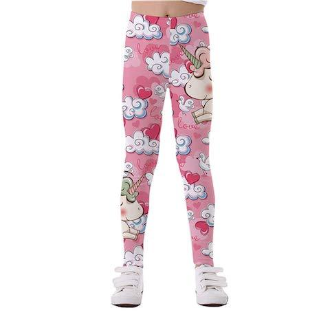 Pantalon Legging Licorne Enfant Kawaii