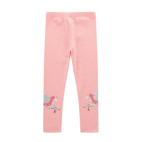 Pantalon Licorne Enfant Rose