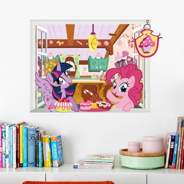 Stickers Licorne Kawaii Chambre