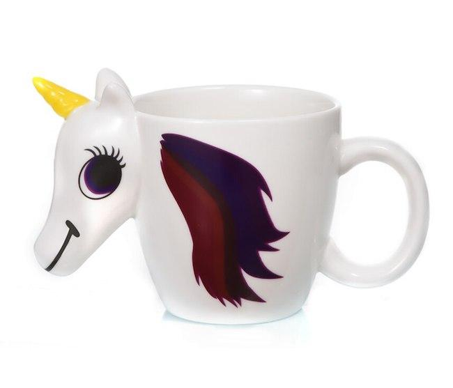 Tasse Licorne Thermosensible Change de Couleur