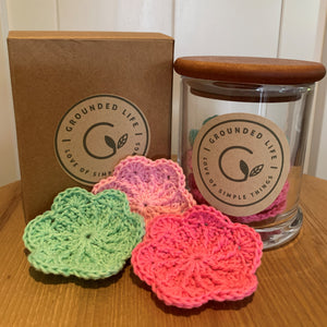 Reusable Cotton Rounds - By Groundedlife