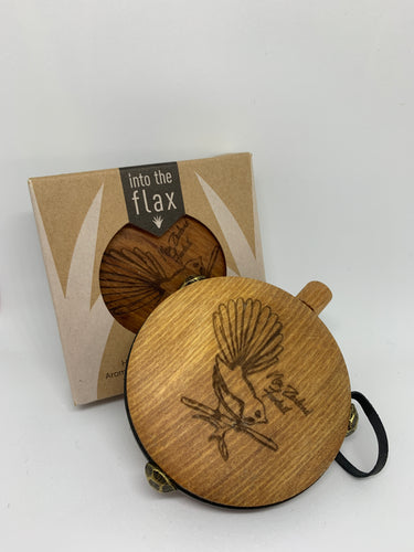 Rimu Aroma Flasks By Into the Flax Mandala Fantail
