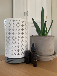 Tower Ceramic Humidifying Aromatherapy Diffuser