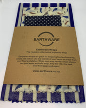Load image into Gallery viewer, Wraps - Set of 3 by Earthware
