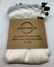 Load image into Gallery viewer, Reusable Produce Bags 3pk by Earthware