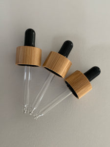 Bamboo Droppers Lids 5 Pack - Black